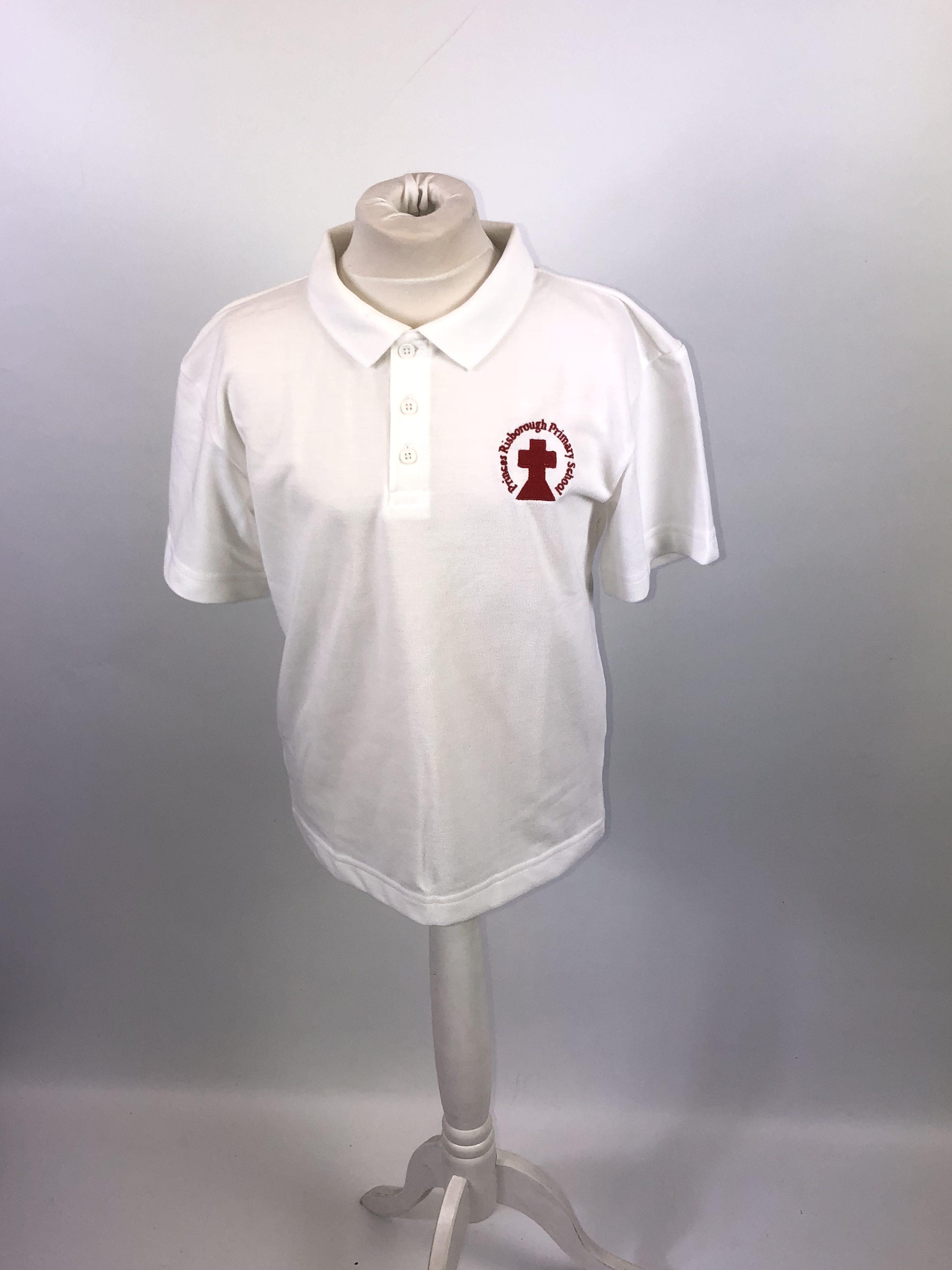 billig AliExpress samlede op Princes Risborough - White Polo Shirt